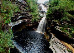 Cachoeira do Sossego, Chapada Diamantina BA Brasil