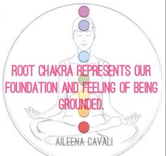 °The Root Chakra ~ Represents our Foundation & Feeling of being Grounded