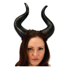 Maleficent Movie Deluxe Horns - Elope - Maleficent - Costumes at Entertainment Earth