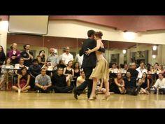 Elegance.  Alex Krebs and Hannah Poston at Seattle TangoMagic 2012, Saturday night