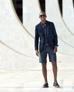 Shorts and Blazer - J.Crew