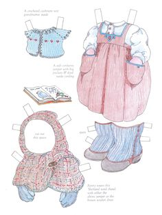 Fanny Louise Paper Doll by Michel