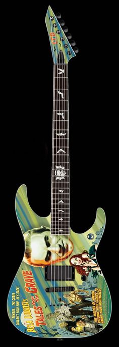 ESP LTD Bela Lugosi Tales from the Grave Limited Edition