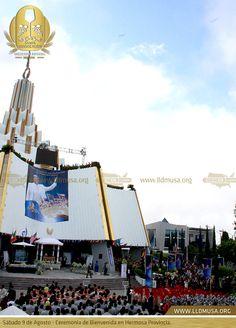 Sábado 9 de Agosto - Ceremonia de Bienvenida en Hermosa Provincia. #BienvenidaSC2014