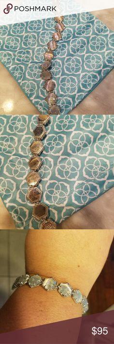 Kendra Scott bracelet Kendra Scott bracelet. Iridescent slate. Only worn once. Jewelry Bracelets