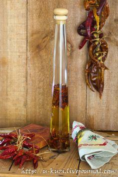 Оливковое масло с чили-перчиком
