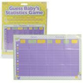 Guess Baby's Stats Baby Shower Game - Party City