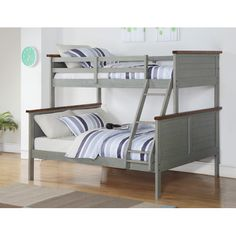 Found it at Wayfair - Panel Twin over Full Bunk Bed