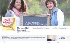 Have you seen the beauty and vulnerability going on over here? Share your own post, story or picture about how you are #preapproved!  https://www.facebook.com/pages/The-Love-Idol-Movement/1396444470621134 #loveidol by @Jennifer Lee