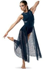 Lace Skirt Maxi Dress