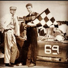 "The stories of Carroll Shelby and Jim Hall (shown here at Mansfield) can be found in Allan Girdler's ""American Road Race Specials"" (Echo Point Books)"