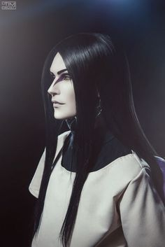 """livinthecoffeelife: """"nips-out-for-itachi: """" cosplayfanatics: """" Orochimaru cosplay by Holy Smokes """" I LOVE THIS """" I legit thought of you when I saw this """" Orochimaru Cosplay, Sasuke Cosplay, Cosplay Anime, Epic Cosplay, Cute Cosplay, Cosplay Makeup, Amazing Cosplay, Cosplay Outfits, Akatsuki Cosplay"""