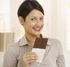 More chocolate = Lower BMI ... !    http://www.bottomlinepublications.com/content/article/diet-a-exercise/sweet-talk-chocolate-helps-you-stay-slim#