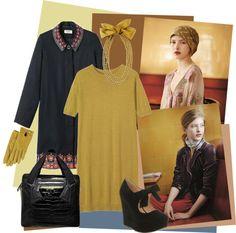 """Toast Dress"" by meritza ❤ liked on Polyvore"