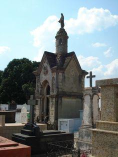 Mausoléu no Cemitério Municipal