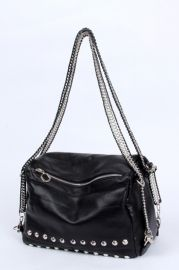 Fashion Rivets Embellished Shoulder Bag - Bags/Purses