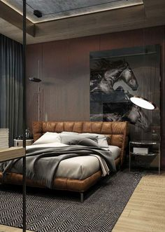 Stunning Bedroom Design For Men