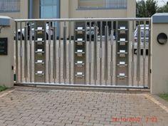 Stainless Steel Gate Manufacturers in Delhi House Main Gates Design, Front Gate Design, Door Gate Design, House Front Design, Steel Grill Design, Steel Gate Design, Grill Door Design, Simple Gate Designs, Compound Wall Gate Design