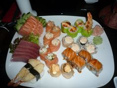 The best Shushi in town is at Confraria
