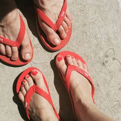 👙🌞🏊❤😙💑 #retrojeans #retrojeanscompany #red #flipflops #withmyboyfriend #together #summertime #happiness #retro #feet #rednails #red Red Nails, Summertime, Flip Flops, Happiness, Sandals, Retro, Instagram Posts, Shoes, Women