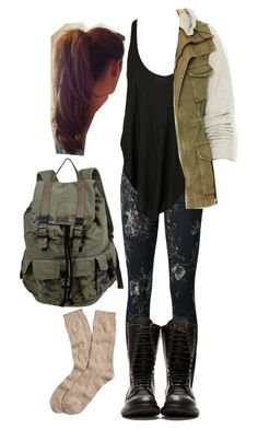 A fashion look from September 2015 by travelerofthenight featuring Free People 7 For All Mankind Rachel Rachel Roy Brooks Brothers and Rick Owens Teen Fashion Outfits, Edgy Outfits, Cute Casual Outfits, Summer Outfits, Movie Outfits, Fashion Dresses, Fandom Fashion, Nerd Fashion, Punk Fashion