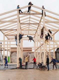 A collective of radical architects who revitalised a housing estate in Liverpool have grand designs on the Turner Prize after being shortlisted for the British art world's leading award. Liverpool, Turner Prize, Art Terms, Thing 1, Arts Award, Modern Masters, Grand Designs, One Design, Community Art
