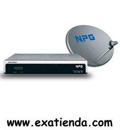 Ya disponible Kit satelite NPG tv dsr4008a + antena 60cm   (por sólo 75.99 € IVA incluído):   - Receptor Digital Satétile (FTA). - Recepción de satélite adaptada a todos los equipos externos. - Antena de alta calidad del recubrimiento electroestático y elevada resistencia contra los agentes corrosivos.  - Especificaciones DSR 4008A - Compatible DVB/MPEG II - 4000 canales programables de TV y Radio - Previsualización en mosaico por imágenes - Función Diseqc 1.2 para