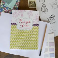 Bright Ideas Notebook by Ashley Thomas, £7.50