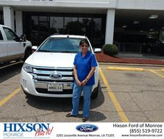 https://flic.kr/p/w3te68 | #HappyAnniversary to Patricia Johnson on your 2014 #Ford #Edge from Scott Turner at Hixson Ford of Monroe! | www.hixsonfordmonroe.com/?utm_source=Flickr&utm_mediu...