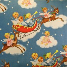 Angels in SLEIGHS-I am pretty sure there is a vintage collectible that looks just like this!