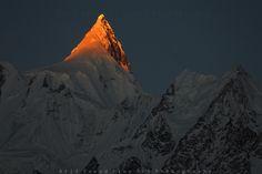 Shisper Peak 7611m, Karakoram, Pakistan.