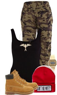"""""""Ain't No Wifey !"""" by plain-and-simple ❤ liked on Polyvore"""