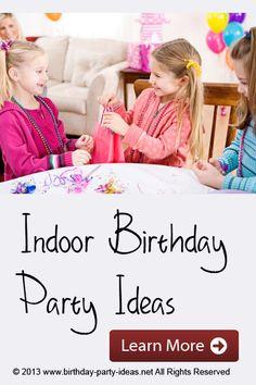 Indoor Birthday Part