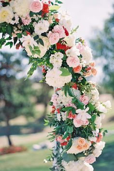 21 Beautiful Wedding Arch Decoration Ideas With Flowers ❤ See more: http://www.weddingforward.com/wedding-arch-decoration-ideas/ #weddings #decorations
