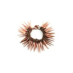 Toggle, Metal, Spike, Charm, Bold, Statement in/with Copper Copper... via Polyvore
