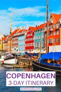 Use this Copenhagen itinerary to find out how to spend 3 days in Copenhagen, Denmark. You will also find many travel tips for your trip to Copenhagen. I Copenhagen travel tips Top Europe Destinations, Europe Travel Guide, Copenhagen Travel, Copenhagen Denmark, European Travel Tips, European Vacation, Cool Places To Visit, Places To Travel, Travel Ideas