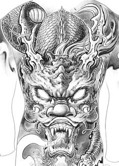 Leg Tattoos, Lunges, Black And Grey, Oriental, Japanese, Tattoos, Japanese Dragon Tattoos, Japanese Language