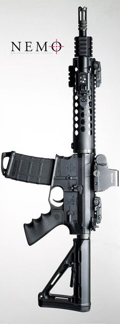 "NEMO Arms originally designed for their military partners. They are taking particular interest in offering ""Spec Ops Mid"" AR15."