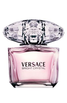 Bright Crystal by Versace, Eau de Toilette. A lightly floral, feminine fragrance… Bright Crystal by Versace, Eau de Toilette. Perfumes Versace, Versace Fragrance, Perfume Hermes, Fragrance Parfum, Fragrance Outlet, Perfume And Cologne, Best Perfume, Perfume Oils, Perfume Bottles