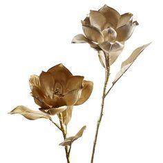 Faux Magnolia Stems. pier1.