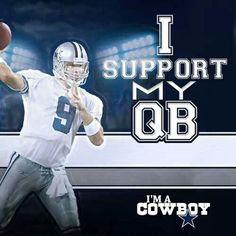 Win, Lose, Or Draw, I Support Tony Romo!  Go Cowboys!