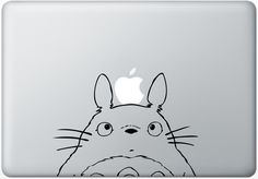 Totoro - The only thing to do with an Apple Laptop