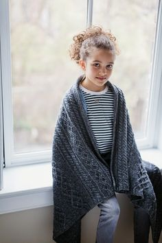 'Bairn' blanket pattern (chart only) in 2 sizes - $7