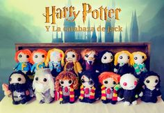 Harry Potter Amigurumi by Cristell Justicia