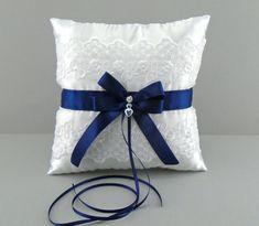 Novia de la boda azul marino cesta de la muchacha por evertonbridal