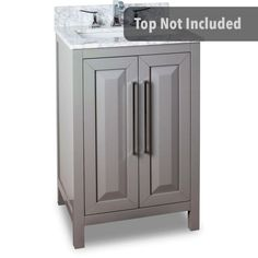 Buy the Jeffrey Alexander Grey Direct. Shop for the Jeffrey Alexander Grey 24 Inch Single Free Standing Vanity Set with Hardwood Cabinet, Marble Top, and Rectangular Undermount Sink from the Cade Contempo Collection and save. 30 Inch Bathroom Vanity, 24 Vanity, Single Handle Bathroom Faucet, Vanity Cabinet, Vanity Sink, Bathroom Faucets, Hall Bathroom, Bathroom Ideas, Bathrooms