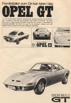 Opel Gt, Gm Car, Cars, Vehicles, German, Space Shuttle, Deutsch, German Language, Autos