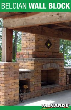 Use Belgian Wall Blocks For A Variety Of Landscaping Projects Including Fireplaces Retaining Walls Retaining Wall Block Landscape Materials Landscape Projects