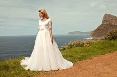 """Brautkleid Madison aus der Marylise Brautmoden Kollektion 2015 :: bridal dress from the 2015 Marylise collection """"Les nouvelles femmes"""" by Misolas"""