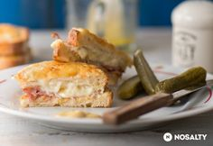 Croque monsieur szendvics